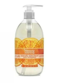 4 x Seventh Generation Liquid Hand Soap Mandarin Orange 12oz