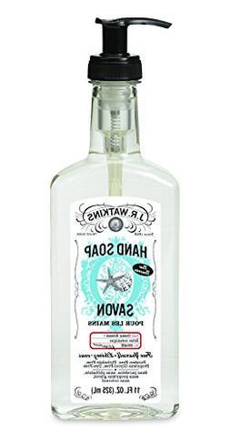 J.R. Watkins Natural Liquid Hand Soap, Ocean Breeze, 6 Count