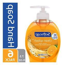 Softsoap Liquid Hand Soap Pump, Clean Splash, 7.5 Ounce