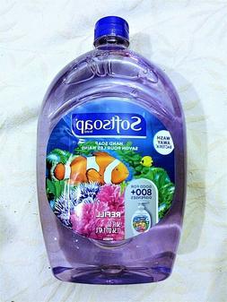 SOFTSOAP Liquid Hand Soap Refill Aquarium BIG 50 oz Sealed