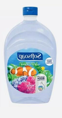 SOFTSOAP Liquid Hand Soap Refill Aquarium scent jumbo 64oz B