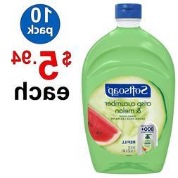 Softsoap Liquid Hand Soap Refill, Crisp Cucumber and Melon