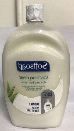 Softsoap Liquid Hand Soap Refill, Fresh Aloe Vera - 50oz