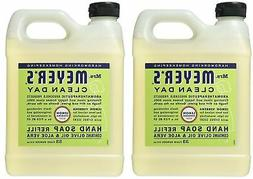 Mrs. Meyers Liquid Hand Soap Refill Lemon Verbena, 33 oz,