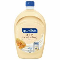 Softsoap Liquid Hand Soap Refill, Milk & Golden Honey, 50 Oz