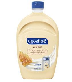 SOFTSOAP Liquid Hand Soap Refill Milk Honey BIG 50 oz 800 Di