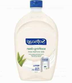 SOFTSOAP LIQUID HAND SOAP REFILL  SOOTHING ALOE VERA 50 FL O