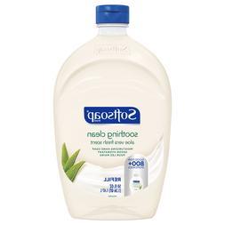 Softsoap Liquid Hand Soap Refill Soothing Clean Aloe Vera Fr