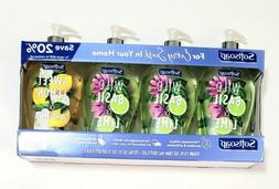 Softsoap Liquid Hand Soap Wild Basil & Lime, Lemon Gardenia