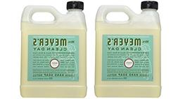 Mrs. Meyer's Liquid Hand Soap Refill, Basil, 33 Fluid Ounce