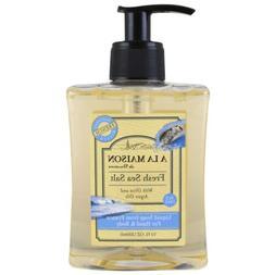 A La Maison Small Liquid Soap, Fresh Sea Salt, 10 Fluid Ounc