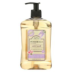 A La Maison Liquid Soap, Rose Lilac, 16.89 Fluid Ounce