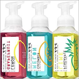 LOT 3 Bath & Body Works SUMMER Foaming HAND SOAP with vitami