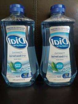 Lot of 2 Dial Complete Foaming Antibact 32oz Refill bottles