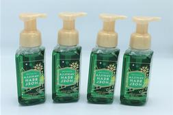 Lot of 4 Bath & Body Works Vanilla Bean Noel Gentle Foaming