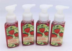 Lot of 4 Bath & Body Works Twisted Peppermint Gentle Foaming
