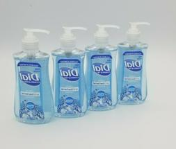 Lot Of 4 - Dial Complete Liquid Hand Soap - Spring Water 7.5
