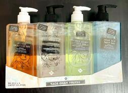 Lot of 4 Member's Mark Luxury Hand Soap 4 x 13 FL OZ Each