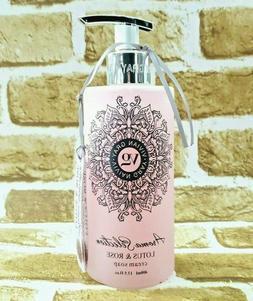 Vivian Gray LOTUS & ROSE Cream Hand Soap 13.5 oz  New!