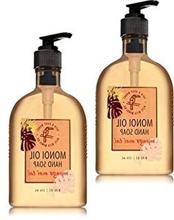 Bath and Body Works 2 Pack Mango Mai Tai Hand Soap With Mono