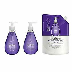 Method Gel Hand Soap Bundle with Two 12 oz. Dispensers & One