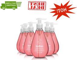 Method Gel Hand Soap, Pink Grapefruit, 12 Fl Oz