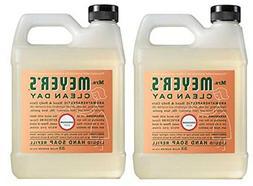 Mrs. Meyers Liquid Hand Soap Refill HqKKii, 33 Oz, 2Pack