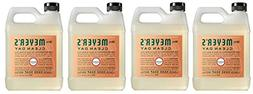 Mrs. Meyers Liquid Hand Soap Refill tOEJmu, 33 Oz, 4Pack