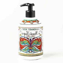 Deruta Rosemary Mint Hand Soap 17 oz each
