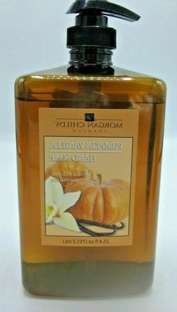 Morgan Child's Premium Hand Soap aloe Pumpkin Vanilla *Leake
