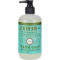 MRS. MEYER'S HAND SOAP,LIQ,BASIL, 12.5 FZ