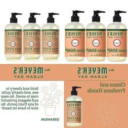 Mrs. Meyer´S Clean Day Hand Soap, Geranium, 12.5 Fl Oz, 3 C