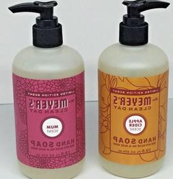 Mrs. Meyer's Clean Day Hand Soap 2 pk Mum/Apple Cider 12.5 f