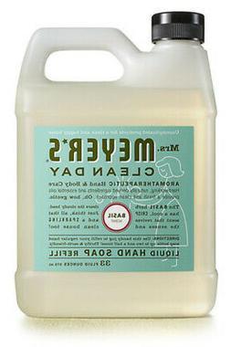 Mrs. Meyer's - Clean Day Liquid Hand Soap Refill Basil - 33