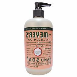 Mrs. Meyer's Clean Day Liquid Hand Soap, Geranium, 12.5 oz,
