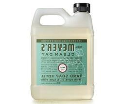Mrs. Meyer's Hand Soap One refill 33 Fl., Oz. NEW, Basil