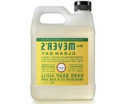 Mrs. Meyer's Hand Soap One refill 33 Fl., Oz. NEW, Honeysuck