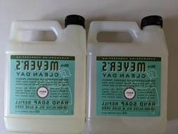 Mrs. Meyer's Liquid Hand Soap Refill, Basil, 33 Fluid Ounce