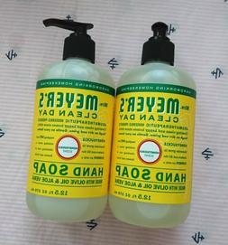 Mrs. Meyer's Lot of 2 Honeysuckle Liquid Hand Soap Wash 12.5