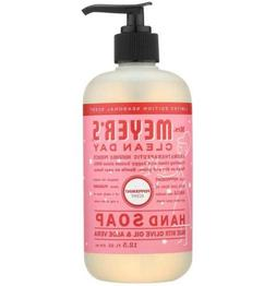 Mrs Meyers Clean Day: 12.5oz, Pink, Hand Soap - Peppermint,
