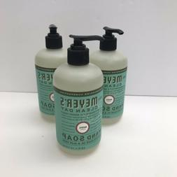 Mrs Meyers Clean Day Hand Soap 12.50 oz Basil Scent 3 pack N