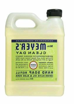MRS MEYERS Clean Day Lemon Verbena Hand Soap Refill 33-fl oz