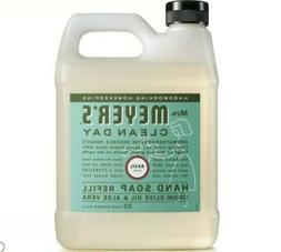 Mrs.Meyer's Clean Day Liquid Hand Soap Refill, Basil Scent
