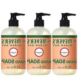 Mrs. Meyer's Clean Day Liquid Hand Soap, Geranium Scent, 1