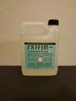 Mrs Meyers Clean Day Hand Soap Refill Basil Scent Brand New