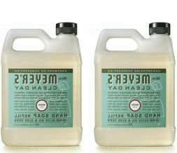 Mrs. Meyers Clean Day Liquid Hand Soap Refill 33 Oz  Basil-