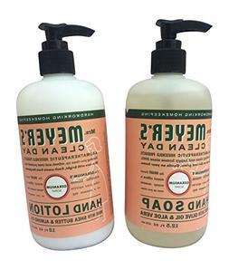 Mrs. Meyers Geranium Hand Lotion  and Hand Soap  bundle