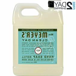 Mrs. Meyer's Liquid Hand Soap Refill Basil 33 fl oz Contai