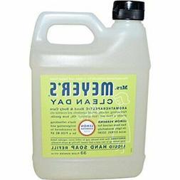 Mrs. Meyers Liquid Hand Soap Refill Liquid 33 Oz Lemon Verbe