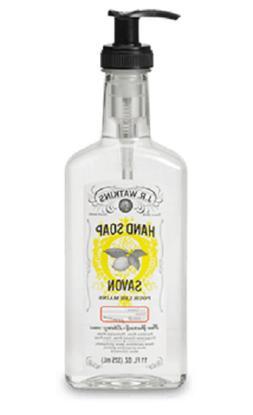 J.R. Watkins Natural Liquid Hand Soap Various Scents - 11 Fl